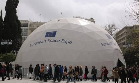 Αθήνα: Ρεκόρ επισκέψεων στην Ευρωπαϊκή Έκθεση Διαστήματος