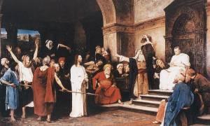 Σε ποια γλώσσα μίλησαν ο Πιλάτος με τον Χριστό;
