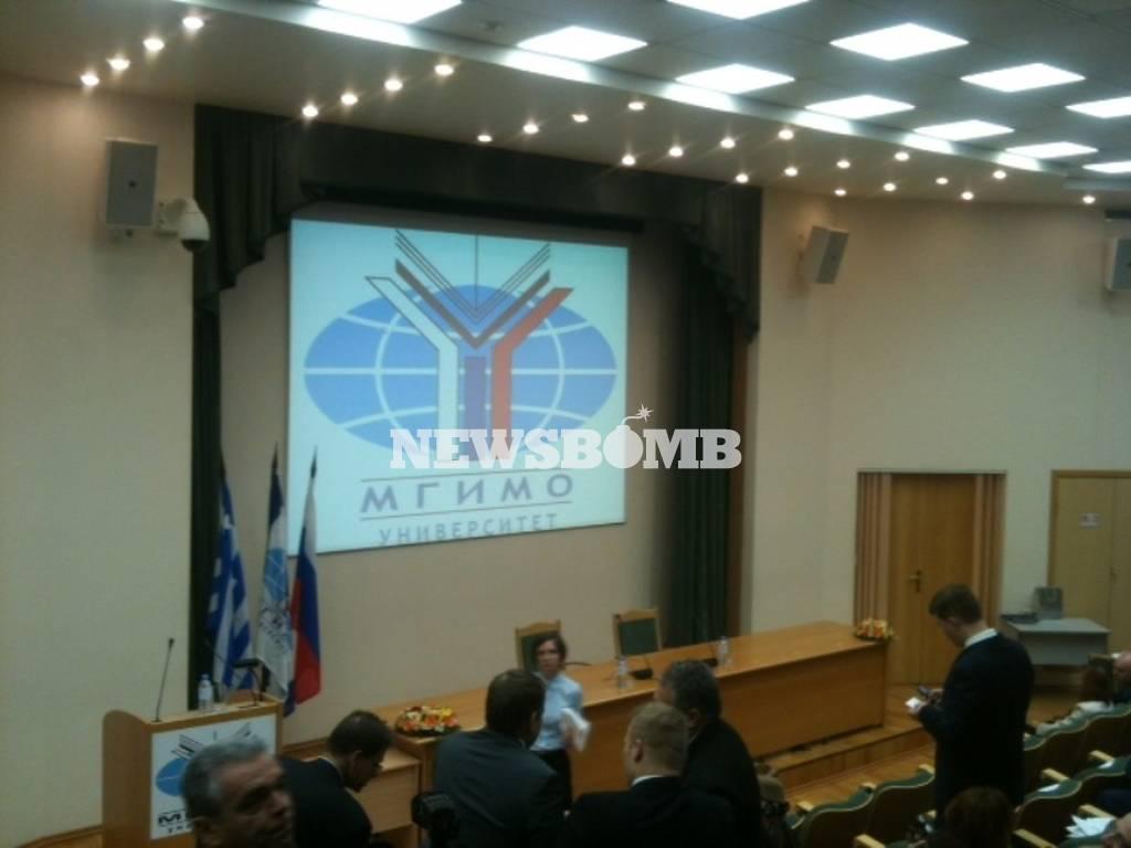 Δεύτερη ημέρα επαφών του Αλ. Τσίπρα στη Μόσχα