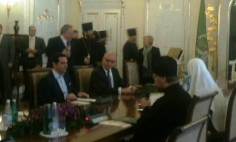 Με τον Πατριάρχη Μόσχας Κύριλλο συναντάται ο Αλέξης Τσίπρας