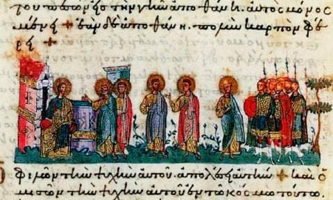 Η συνάντηση του Ιησού με τους Έλληνες