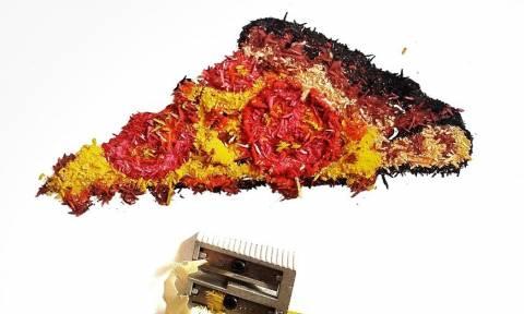 Μοναδικά έργα τέχνης από ξύσμα… μολυβιού! (photos)