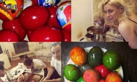 Θρασκία - Καραβάτου: Έβαψαν τα πασχαλινά αυγά τους και μας τα δείχνουν!