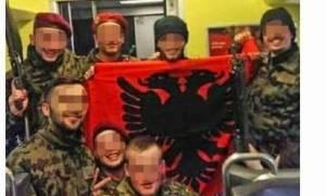Σάλος στα ΜΜΕ για τους Ελβετούς στρατιώτες με την αλβανική σημαία