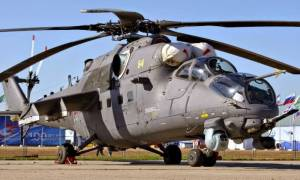 Ρωσία: Ενδιαφέρον του Αφγανιστάν για αγορά ελικοπτέρων Mi-35