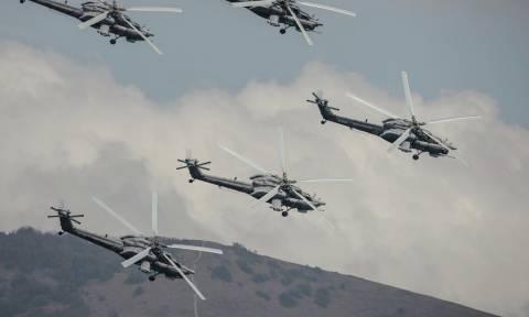 Στρατιωτικές ασκήσεις στον Βόρειο Καύκασο