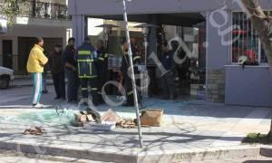 Έκρηξη σε κατάστημα στο κέντρο της Αλεξανδρούπολης