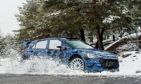 WRC: Η Hyundai δοκιμάζει το i20 WRC του 2016 στην Ισπανία