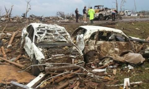 ΗΠΑ: Δύο νεκροί από τους ανεμοστρόβιλους
