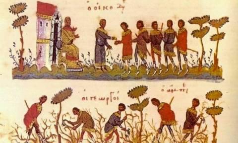 Πώς έστρωναν το πασχαλινό τραπέζι στα βυζαντινά χρόνια (pics)