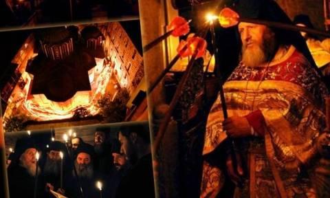 Άγιον Όρος: Πάσχα στο «Περιβόλι της Παναγίας» (vid)