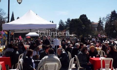 Μεγάλο γλέντι στα Τρίκαλα την Κυριακή του Πάσχα (photos)