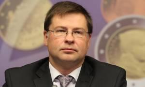Ντομπρόβσκις: Επιταχύνονταν οι προσπάθειες για την Ελλάδα