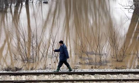 Βόρεια Ελλάδα: Παραμένουν τα προβλήματα από τις δυνατές βροχές