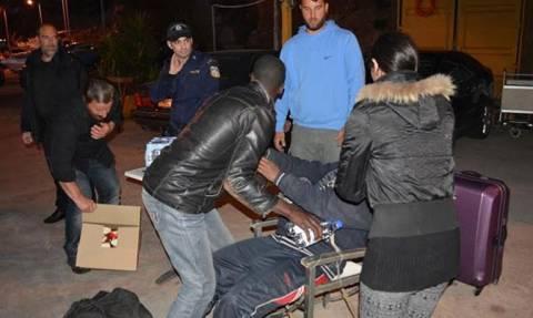 Στην πλατεία Βικτωρίας κοιμήθηκαν οι μετανάστες της Γαύδου