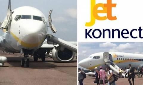 Ινδία: Επεισοδιακή προσγείωση - Καρδιοχτύπησαν οι επιβάτες πτήσης της Jet Airways