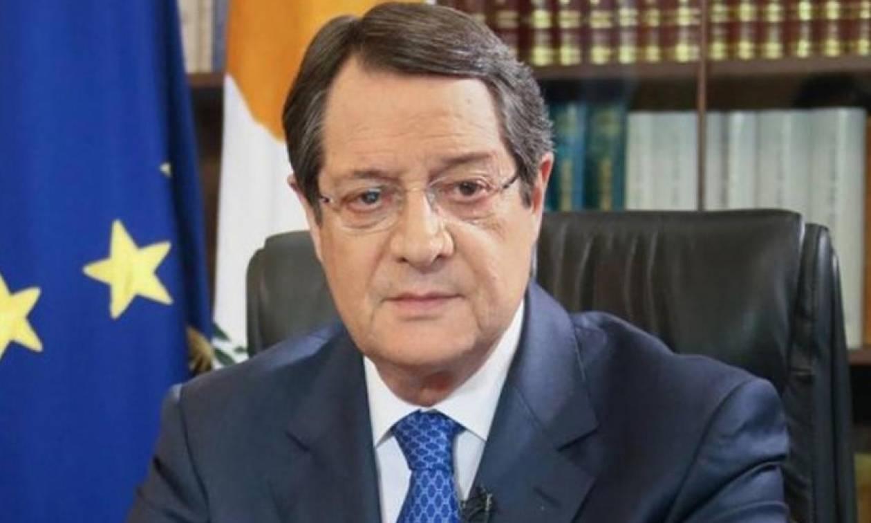 Η ατζέντα συνομιλιών του Αναστασιάδη στην Αθήνα