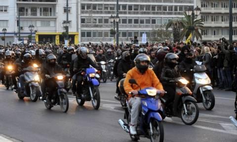 Μοτοπορεία αντιεξουσιαστών το απόγευμα της Τρίτης (14/04) στην Αθήνα