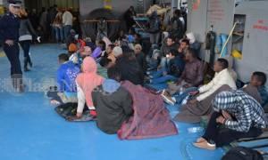 Προσωρινά κρατούμενοι οι ενήλικοι δουλέμποροι της Γαύδου