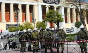 Κατάληψη ΕΚΠΑ: Πέντε ακόμη άτομα συνελήφθησαν την Τρίτη (14/4)