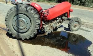 Σπάρτη: 70χρονος έχασε τη ζωή του από ανατροπή τρακτέρ