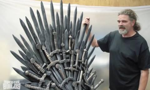 Έφτιαξαν τουαλέτα Iron Throne (video)
