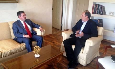 Συνάντηση Σταθάκη-Καμίνη για τις προτεραιότητες του δήμου σχετικά με το νέο ΕΣΠΑ