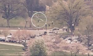 Ουάσινγκτον: Ελικόπτερο προσγειώθηκε στον κήπο του Καπιτωλίου (video+photos)