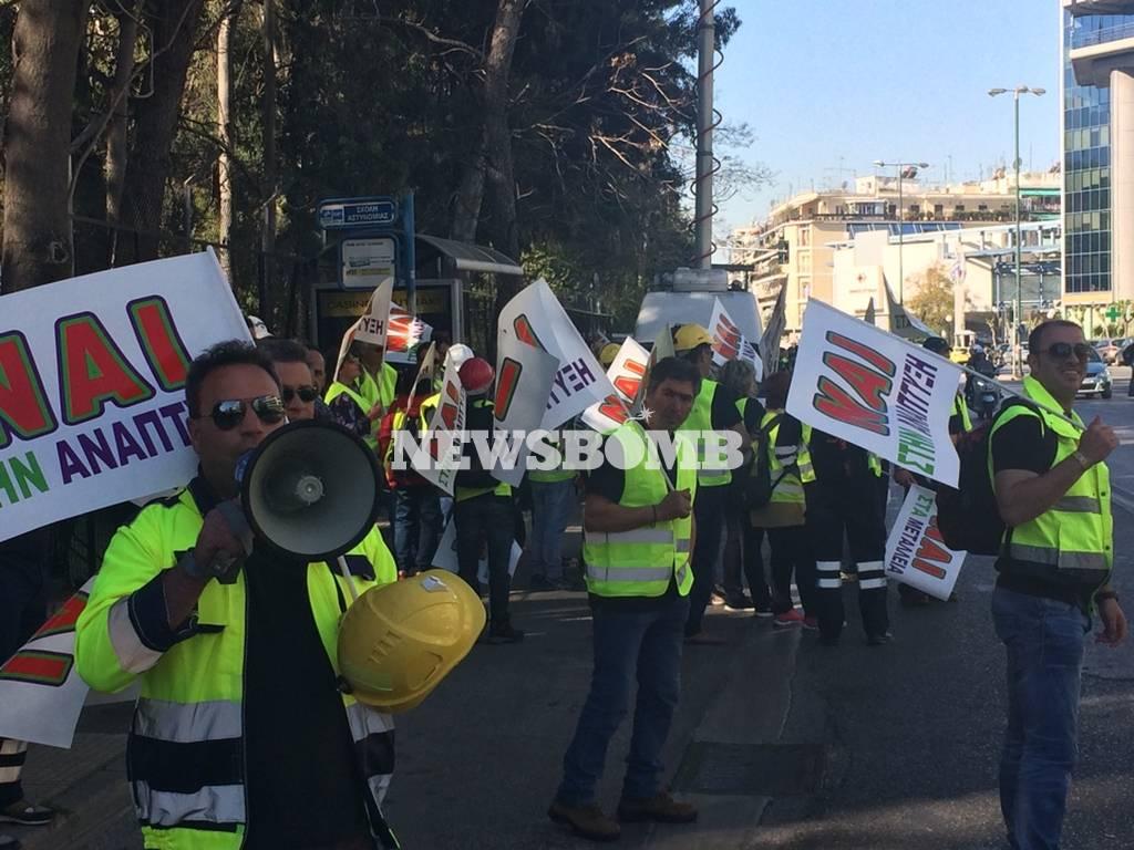 Στην Αθήνα πάνω από 4.000 μεταλλωρύχοι της Χαλκιδικής