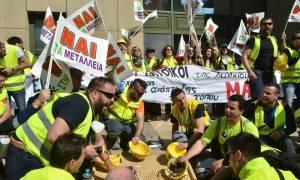 Στην Αθήνα πάνω από 4.000 μεταλλωρύχοι της Χαλκιδικής (Videos και Photos)
