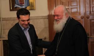 «Ευχαριστώ» Τσίπρα σε Ιερώνυμο για την αξιοποίηση της εκκλησιαστικής περιουσίας