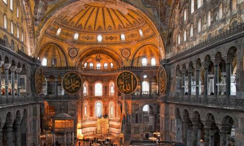 Hurriyet: «Η Αγία Σοφία μπορεί να λειτουργήσει πλέον ως τζαμί»