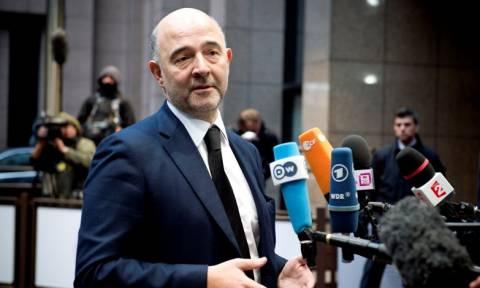 Μοσκοβισί: Δεν γίνεται προετοιμασία για Grexit