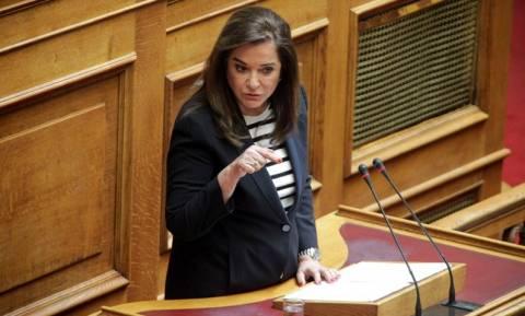 Η Μπακογιάννη αφήνει ανοιχτό το ενδεχόμενο να είναι υποψήφια για την προεδρία της ΝΔ
