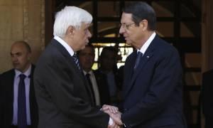 Παυλόπουλος: Να βρεθεί μία βιώσιμη λύση για το Κυπριακό