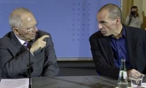 EUobserver - Σόιμπλε και Βαρουφάκης: Δυο διαφορετικοί κόσμοι