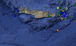 «Ταρακουνήθηκε» για ακόμα μια φορά η Κρήτη