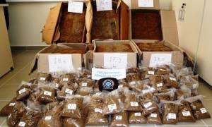 Βόλος: Δύο συλλήψεις για μεγάλη ποσότητα λαθραίου καπνού