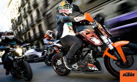 KTM: Orange Days στην Ελλάδα