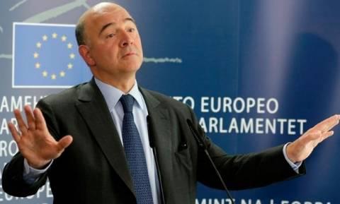 Μοσκοβισί: Εύχομαι η Ελλάδα να παραμείνει στο ευρώ