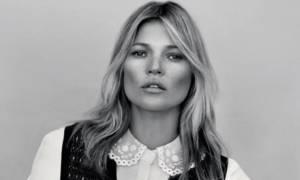 Η Kate Moss δεν φοβάται: Εμφανίζεται άβαφη και μας δείχνει τις ρυτίδες της