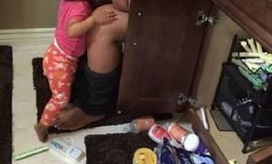 Η φωτογραφία μιας μαμάς που μάζεψε 110.000 likes μέσα σε 5 ώρες