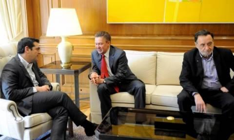 Συνάντηση Τσίπρα-Μίλερ: Σε καλό δρόμο η συμφωνία για τον αγωγό