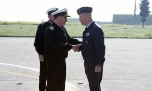 Σπουδαστές της Σχολής Ναυτικών Δοκίμων στο Αρχηγείο Αεροπορίας