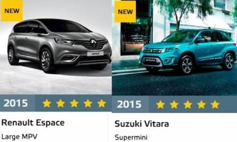 Euro NCAP: Τα αποτελέσματα 4 νέων μοντέλων (photos)
