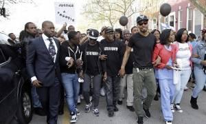 Βαλτιμόρη: Διαδήλωση για το θάνατο Αφροαμερικανού