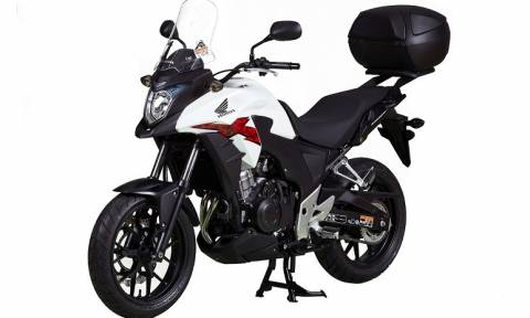 Honda: Τα CB500X Travel Pack και NC750X / DCT Adventure Pack (photos)