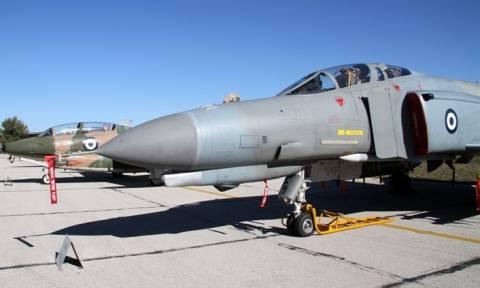 Ατύχημα με πολεμικό αεροσκάφος στην Ανδραβίδα