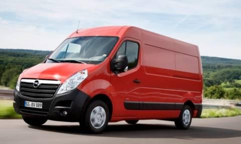 Opel: Το Movano Νικητής του Τίτλου Green Van 2015