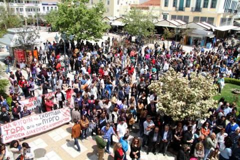 Πύργος: Νέα συγκέντρωση διαμαρτυρίας πολιτών για τα απορρίμματα (photos)